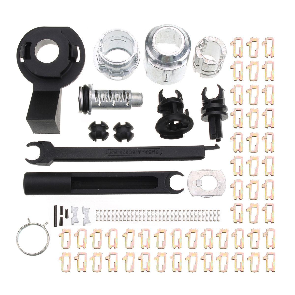 Kit de reparación de bloqueo de liberación de capó de coche pestillo para Ford/Focus MK2 2004-2012 7M5AA16B970AA 4M5A-A16B970-AB 1355231 1535949