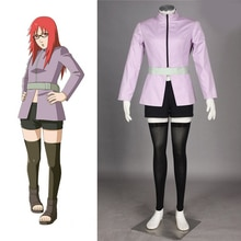 Anime Naruto Uzumaki Karin Cosplay Costume