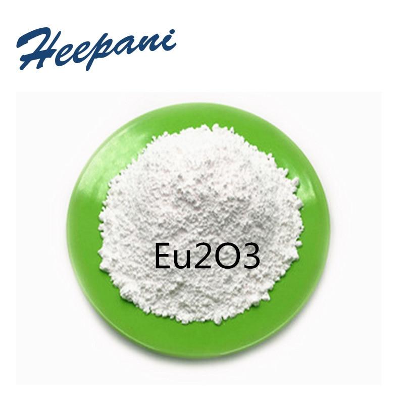 Polvo de envío gratis Eu2O3 con 99.999 de pureza 5N polvo de óxido de europium compuesto de tierra rara