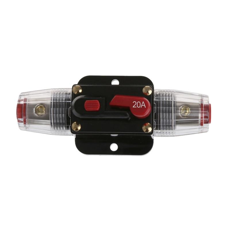 Auto Geändert Schalter Audio 125A Circuit Breaker Manuellen Reset Schalter Sicherung Halter