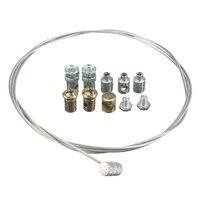 One Set Universal 1pcs Motorcycle Emergency Throttle Accelerator Cable + 8pcs Nut for Yamaha for Suzuki for Kawaski
