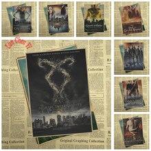 Sci Fi Action Film The Mortal Instruments: City Of Bones Kraftpapier Poster Behang Interieur Decoratie