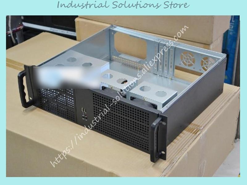 New Ultra-Short 3U Computer Case 3U Server Computer Case Monitor Hard Drive Computer Case Large-Panel Big Power Supply