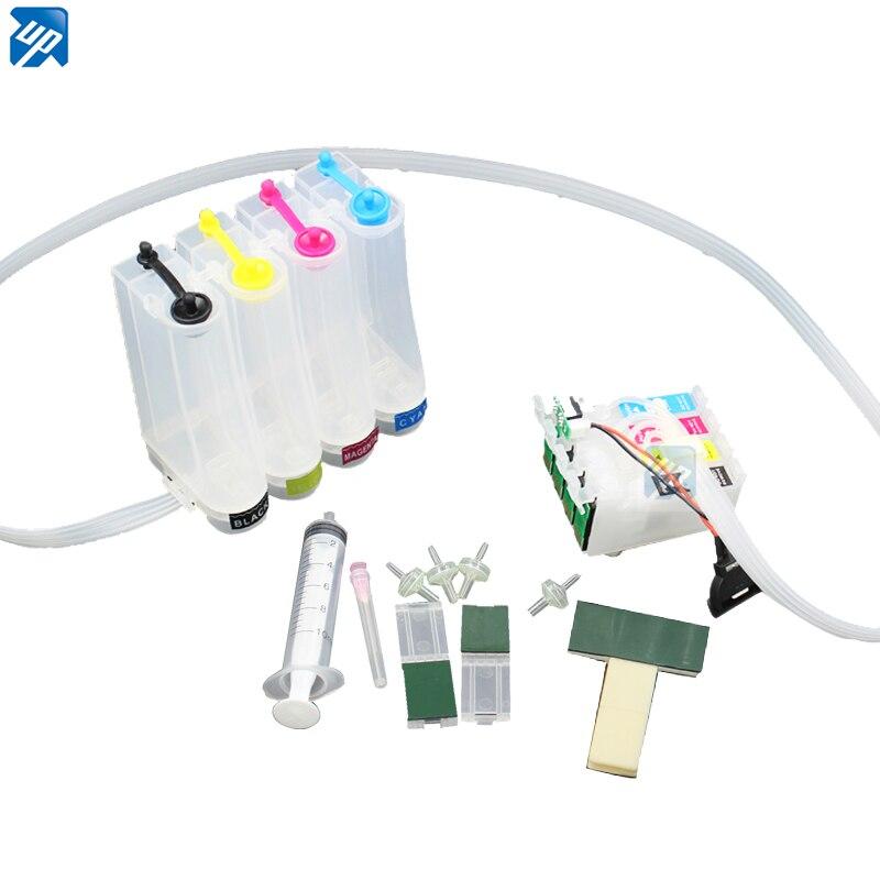 Vazio CISS sistema contínuo de tinta para impressora epson XP103 XP203 XP207 XP303 XP306 XP406 xp313 xp413 com ARC chip xp33 T1711 t1701