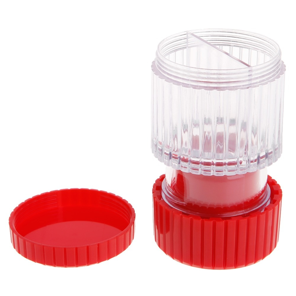 2pcs Pill Pulverizer Tablet Grinder Medicine Cutter Crusher Storage Compartment Box Personal Health Care Pill Cases Splitters
