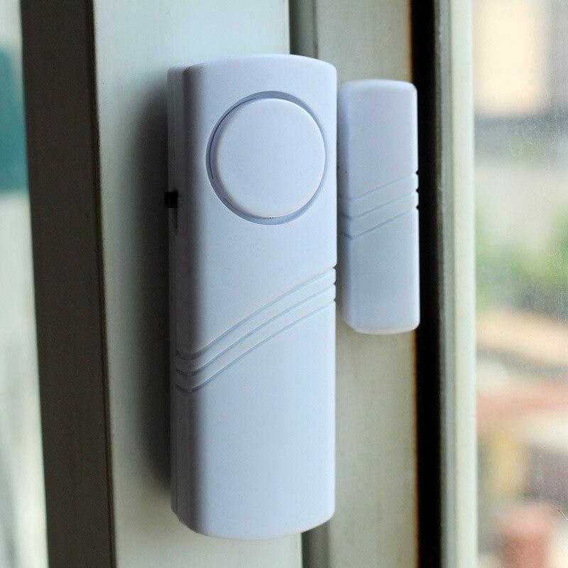 Sem fio sensor magnético sem fio janela ímã sensor detector para casa janela porta alarme entrada anti ladrão alarme de segurança