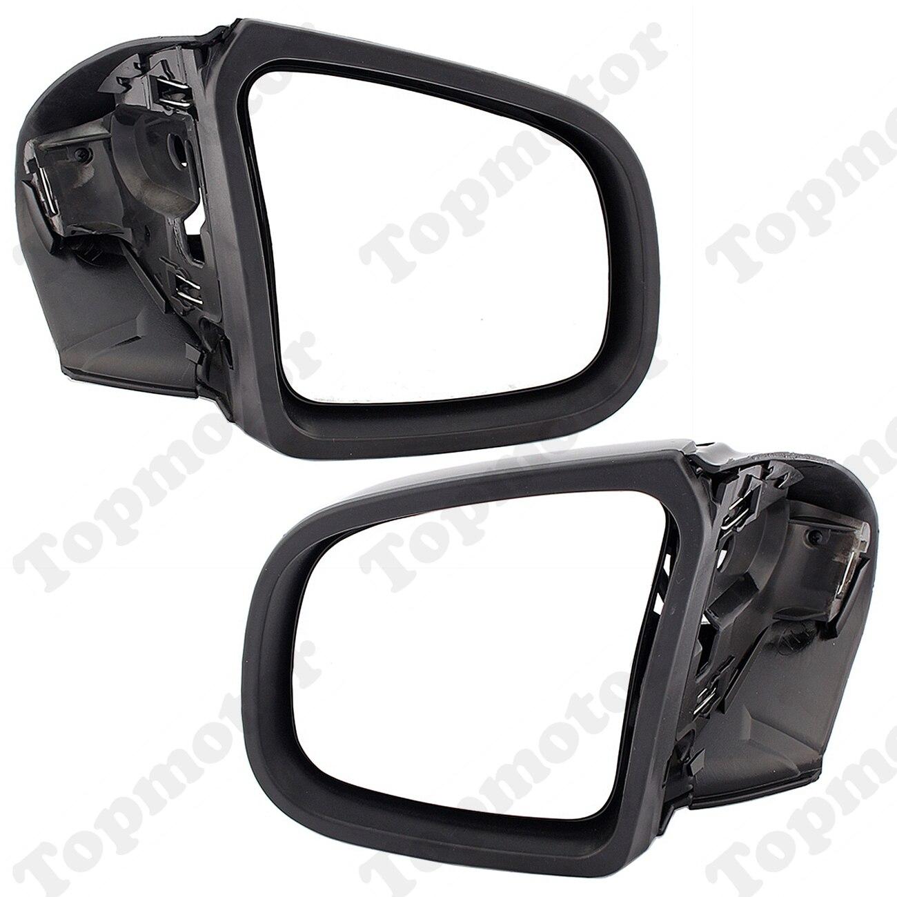 Espejos retrovisores laterales derecho/izquierdo negro brillante para motocicleta BMW K1200LT K1200 LT K1200M 1999 - 2008 retrovisor Moto