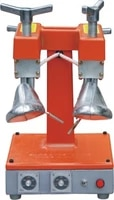 two way shoe stretcher with temperature control practical stretching machine for shoes in orange color