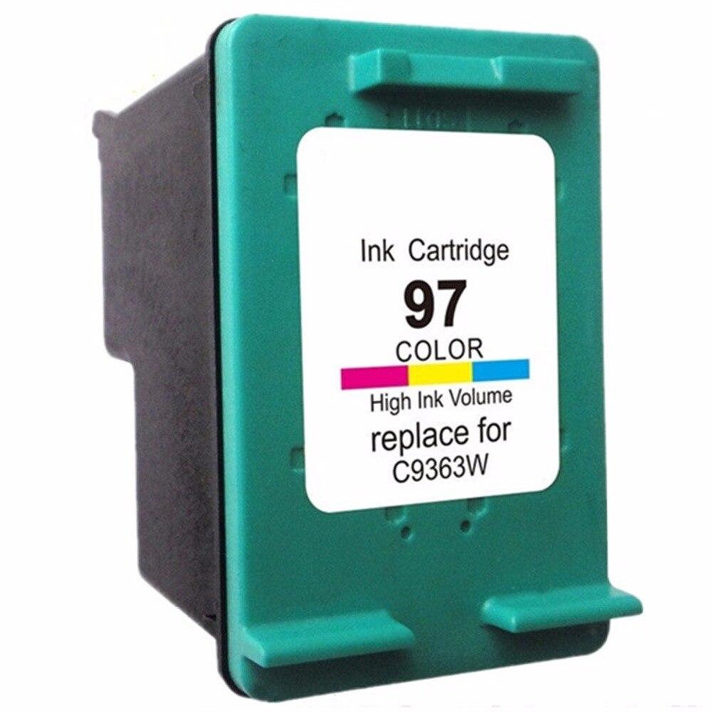 Cartuchos refabricados para HP97 XL 97XL HP97 HP97XL Psc 1610 2355 Photosmart 325 335 375 385 425 475 Officejet 6210