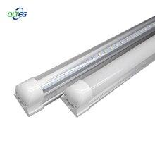 Светодиодные лампы T8, 600 мм, 10 Вт, 2 фута, светодиодные лампы 2 фута, AC85-265V, G13, SMD2835, светодиодные лампы 1000 лм, светодиодные флуоресцентные лампы