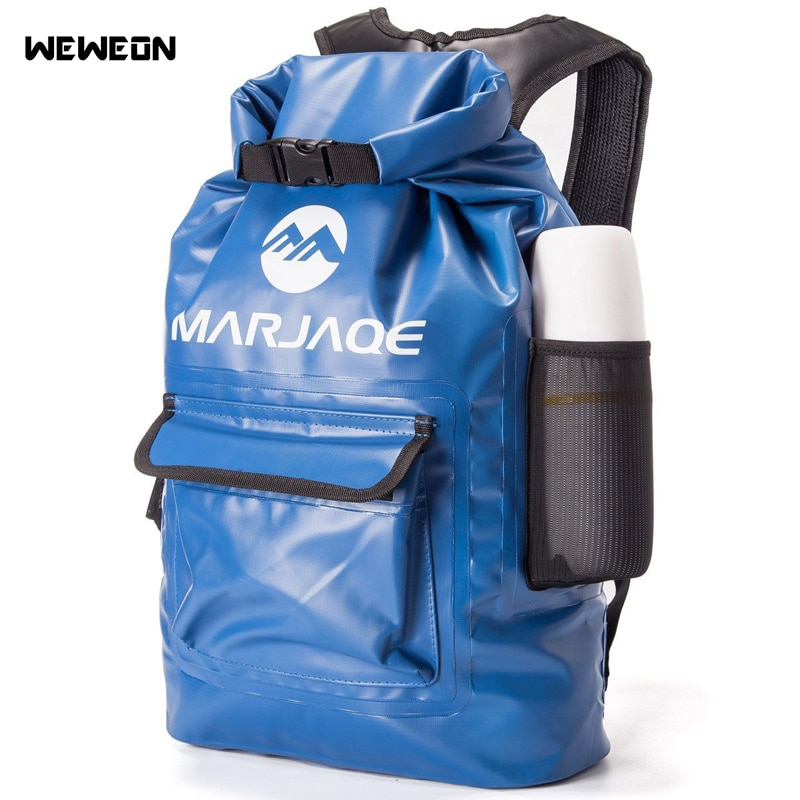22L Водонепроницаемая сухая сумка, уличная сумка для плавания, рюкзак для хранения, для речного треккинга, рафтинга, гребли, каякинга, кемпинг...