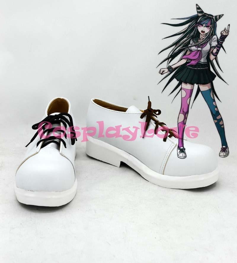 Danganronpa Dangan Ronpa 2 Mioda Ibuki Cosplay Shoes Boots Hand Made Custom-made For Halloween Christmas Festival CosplayLove