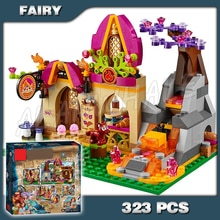 323 pièces elfes Azari et la boulangerie magique feu automne 10412 modèle blocs de construction filles fée Emily Jones Compatible avec Lago