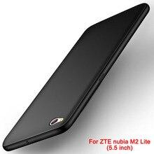 Coque pour ZTE nubia M2 coque de luxe Matte ZTE nubia M2 Lite coque souple en Silicone pour ZTE nubia M 2 Lite coque de téléphone couverture arrière