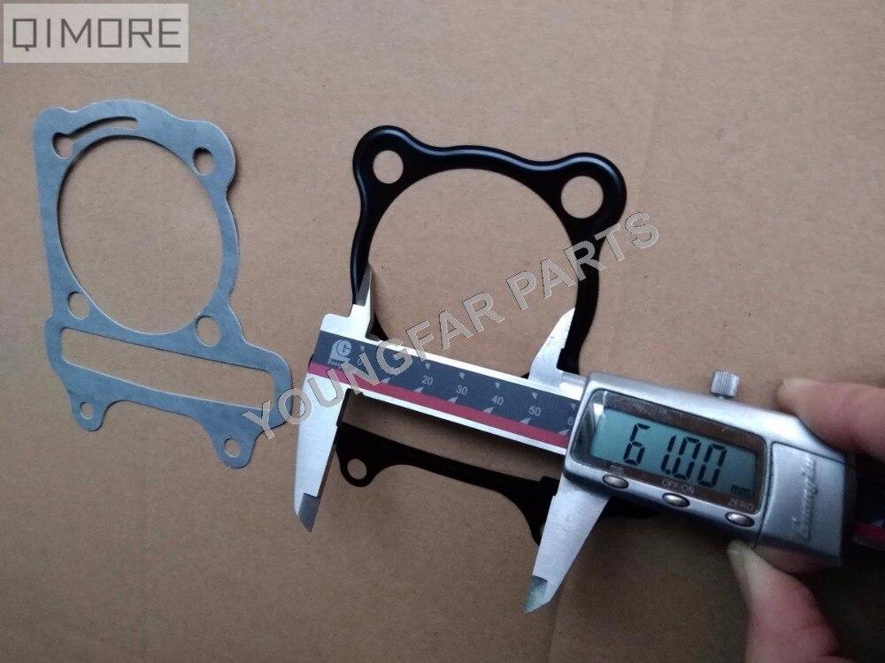 61 мм прокладка головки большого отверстия и базовая прокладка для 4-тактного скутера мопеда ATV QUAD 157QMJ 1P57QMJ GY6 150