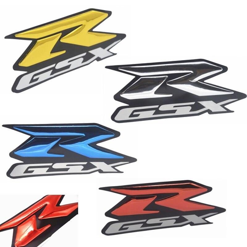 2 шт. 3D GSXR наклейка на мотоцикл наклейка эмблема поднятый светоотражающий обтекатель наклейки Moto винил Bling для GSXR 1000 1100 600 750 1300