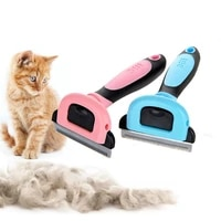 3 size pet dog cat removal hair comb brush clipper cat grooming accessories hair deshedding remover brush for dog cat kitten