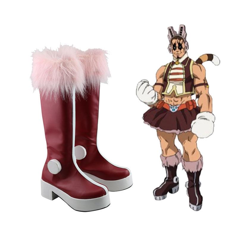 Anime Boku no Hero Academia Boots PUSSY CAT tiger Cosplay My Hero Academia Shoes Custom Made