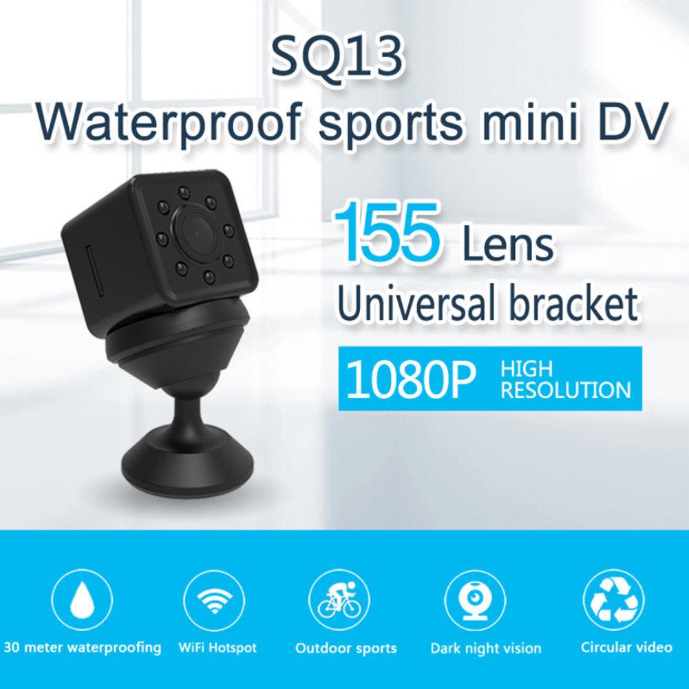 4 GB tarjeta + SQ13 Mini HD 1080 P DV cámara grabadora de seguridad DVR cámara de vídeo