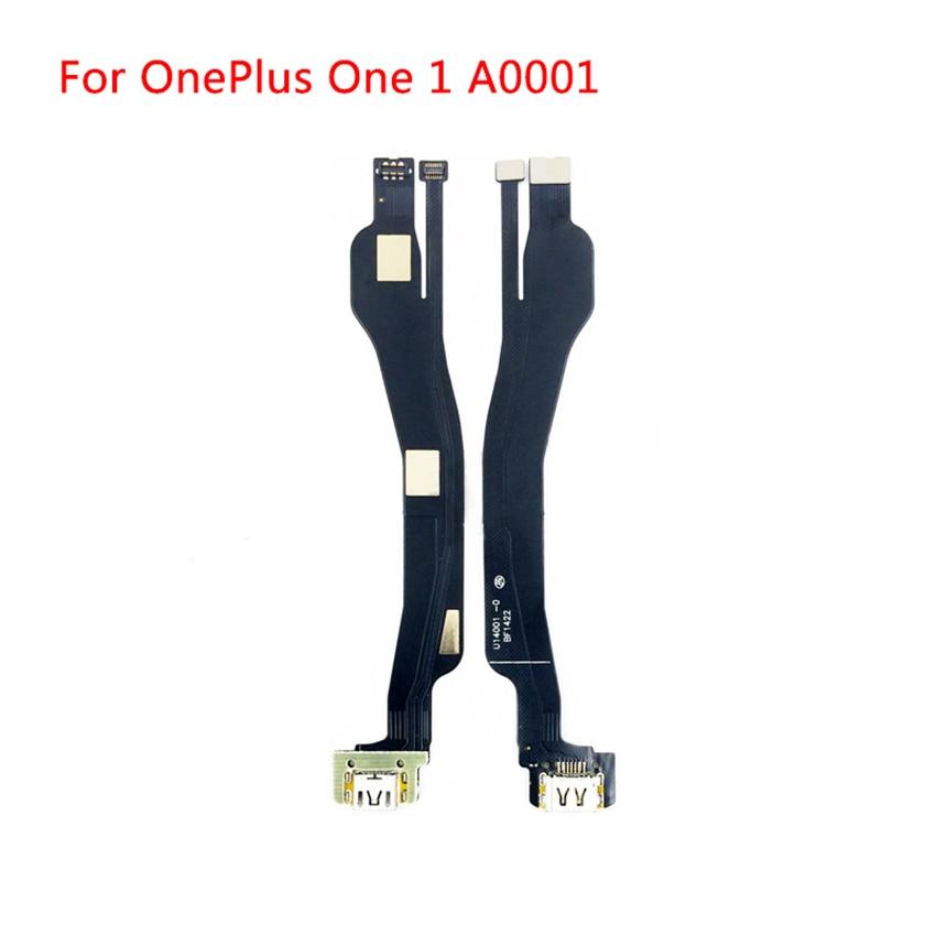Cargador de puerto de carga USB 100% probado reemplaza el Cable flexible para OnePlus One 1 + A0001