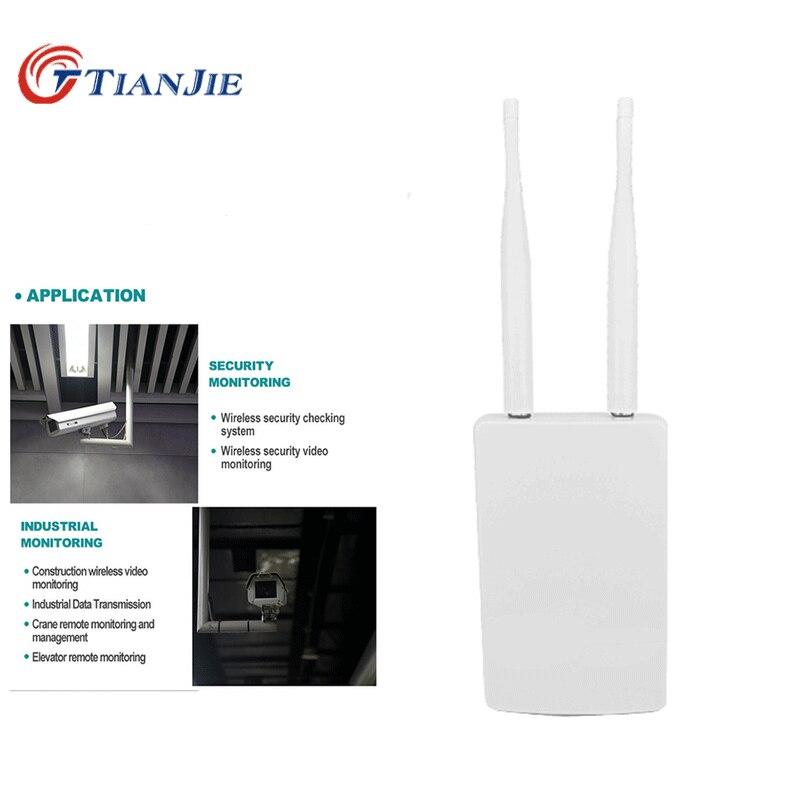 TIANJIE High Speed Outdoor 4G LTE Wireless AP Waterproof Sim Card Slot Wifi Router роутер wi fi Hotspot Station CPE роутер Modem