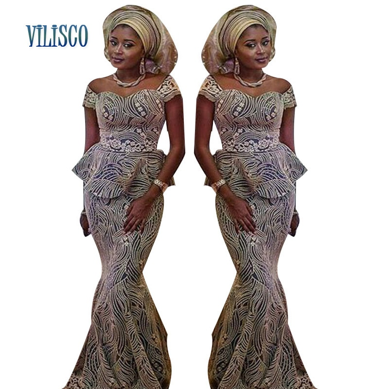 African Bazin Riche Dresses with Headtie for Women Lace Embroidered 2 Pieces Skirt Sets Clothing Top and XG95
