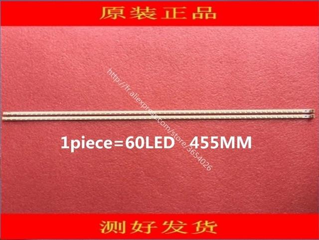 20 peças/lote para samsung tcl TV LCD LÂMPADA Led BACKLIGHT L40F3200B 40-down LJ64-03029A LTA400HM13 1 peça = 60LED 455mm é novo