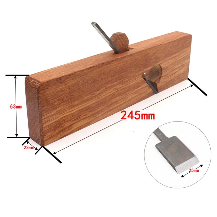 Ручной инструмент для деревообработки, 245 мм, средний нож, обрезка, строгальный станок, плотник «сделай сам», Обрезной самолетик для домашне...