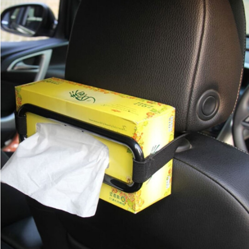 Car Styling Car Sun Visor Tissue Paper Box Holder for Renault Koleos Clio Scenic Megane Duster Sandero Captur Twingo