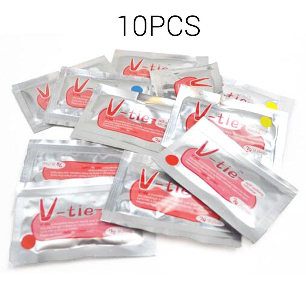 10 unids/set uso duradero NO TÓXICO LÍQUIDO silicona reparación resistente al calor barro DIY Universal colorido pegamento reparación barro