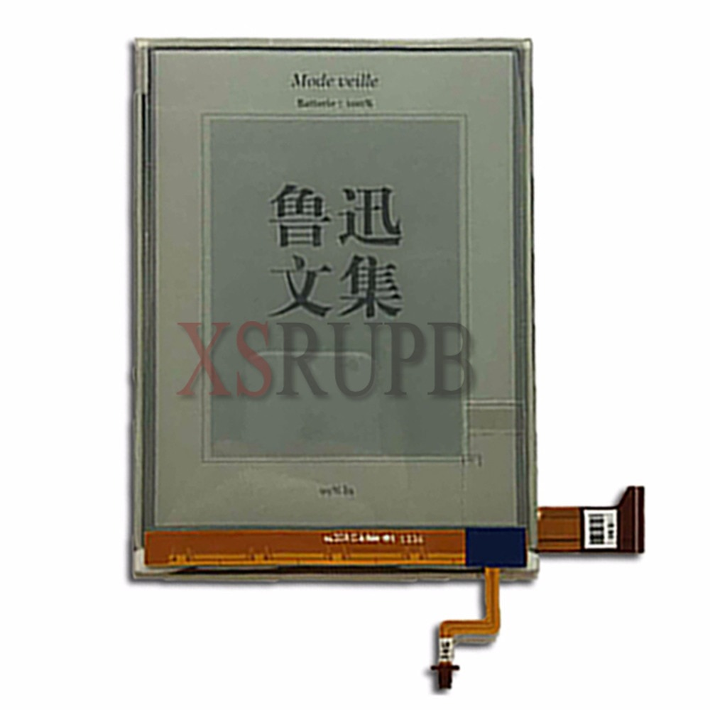 New E-Ink ED060XG1(LF)T1-11 ED060XG1 758*1024 LCD Screen For Kobo Glo Reader Ebook eReader LCD Displ
