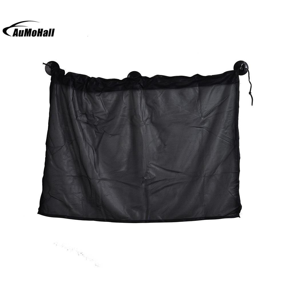 52cm x 80cm 1 par parasol de coche cortina de ventana lateral sombrilla protección UV tela de malla con ventosa