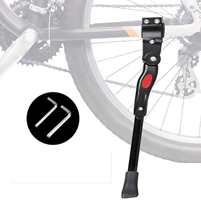 Стойка для велосипеда, стойка для парковки, стойка для велосипеда, боковая подставка для ног, MTB, дорожный горный велосипед, подставка для 20/24/28 дюймов, 2 гаечных ключа