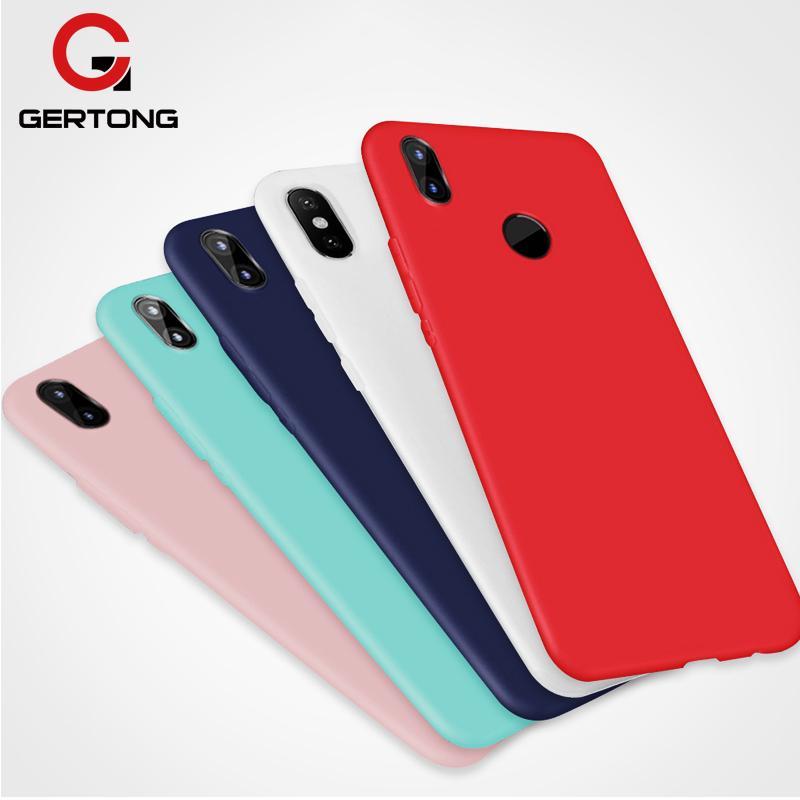 Candy Color Soft Phone Case For Xiaomi Mi 8 Lite A2 Lite A1 Mi Max 3 Mix 3 Mi8 Mi6 Mi6X Mi5X Play Po