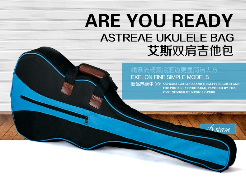 Чехол для акустической гитары Модный водонепроницаемый детский Дорожный из