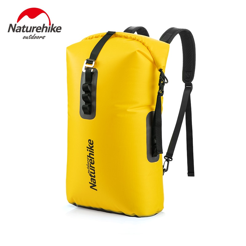 sport double layer water proof arm bag dark blue Naturehike Swimming Waterproof Bag Portable Camping Backpack Sport PVC Dry Bag water Proof Pouch NH19SB002