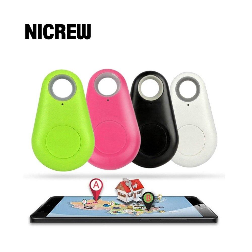 Nicrew Сейф для домашних животных, собак, кошек, анти-потерянный трекер, умный Bluetooth трекер, GPS локатор, бирка, сигнализация, кошелек, автомобильный отслеживающий искатель, сигнализация, брелок