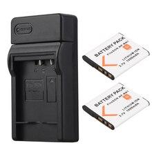 3.7V 1000mAh NP-BN1 NP BN1 NPBN1 Batterie pour Appareil Photo Sony TX9 WX100 TX5 WX5C W620 W630 W670 TX100 Bateria avec Chargeur