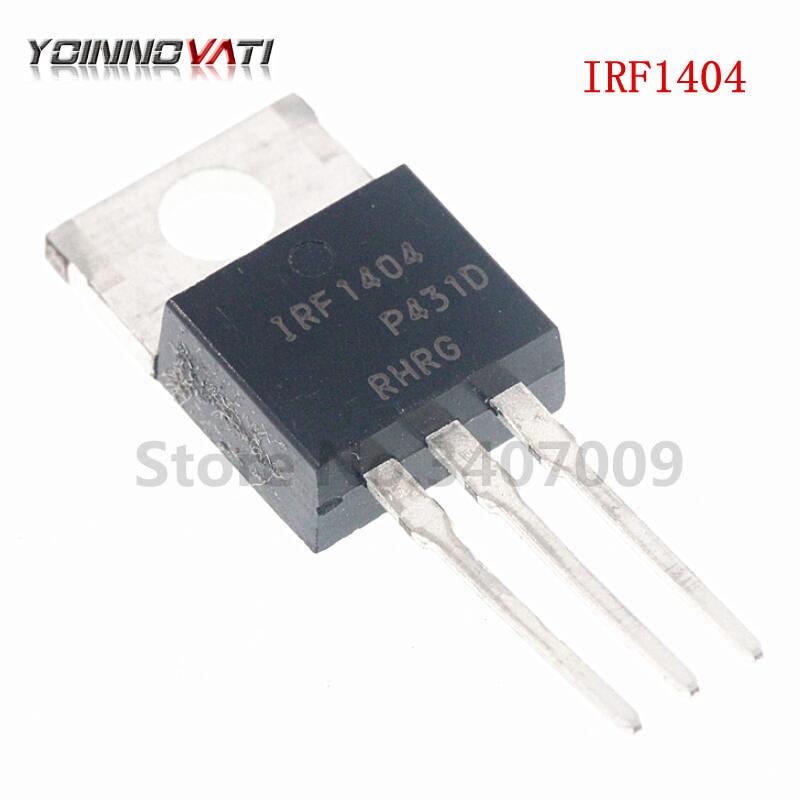10 Uds IRF1404PBF IRF1404-220 MOSFET MOSFT 40V 162A 4mOhm 160nC nuevo original