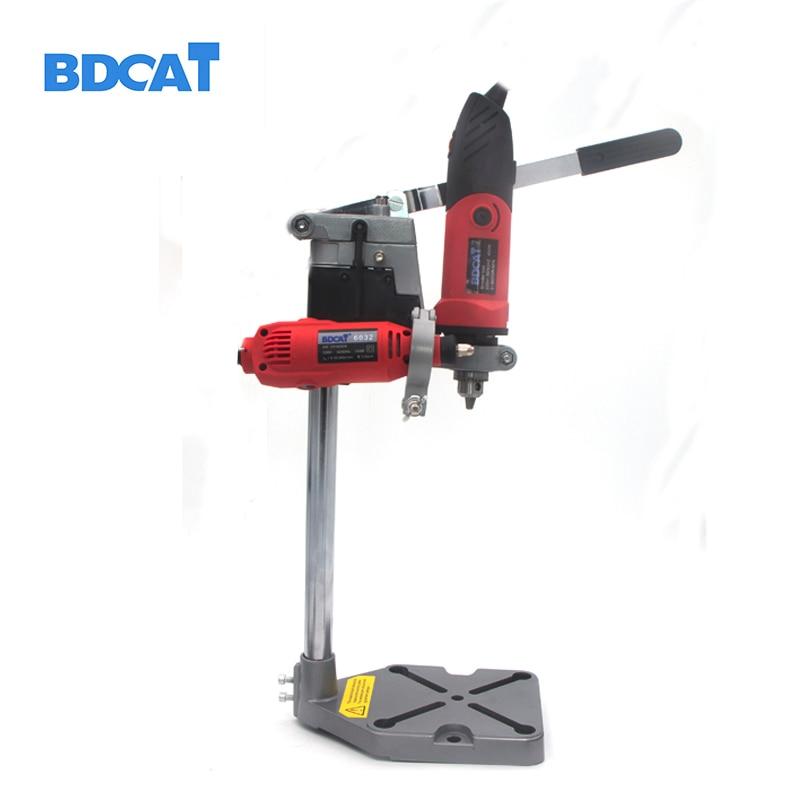 BDCAT Dremel электрическая подставка для сверления электроинструменты аксессуары для скамья бурильный пресс подставка DIY инструмент основа Рам...
