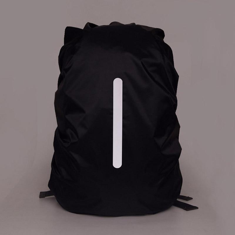 Chubasquero mochila impermeable reflectante de seguridad nocturna traje para 25-29L, 30-40 L mochila para senderismo al aire libre