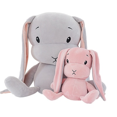 70cm 50CM 30CM Cute Rabbit Plush Toys Bunny Stuffed Toy Pillow For Baby Sleeping Gift
