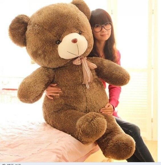 Stuffed animal Teddy bear about 70 inch plush toy 180 cm bear throw pillow doll wb508