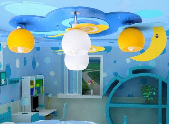 Lámparas para dormitorio infantil, luz de techo para niños, encantadoras lámparas para niños, lámparas de techo para habitaciones infantiles, envío gratis