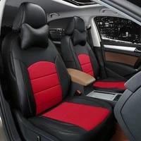 to your taste auto accessories custom luxury leather car seat cover for vw gol santana tiguan l touran jetta tiguan waterproof