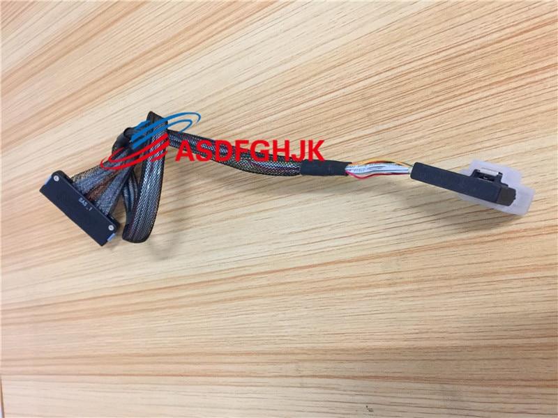 ل Dell PowerEdge R710 سلسلة TK037 SAS إلى Mini SAS لوحة الكترونية معززة كابل CN-0TK037 0TK037 TK037 100% TESED OK