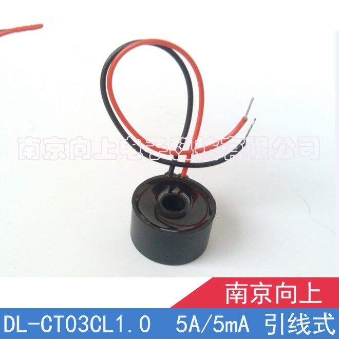 Transformador de corriente de precisión DL-CT03CL1.0 5A/5mA Salida de plomo