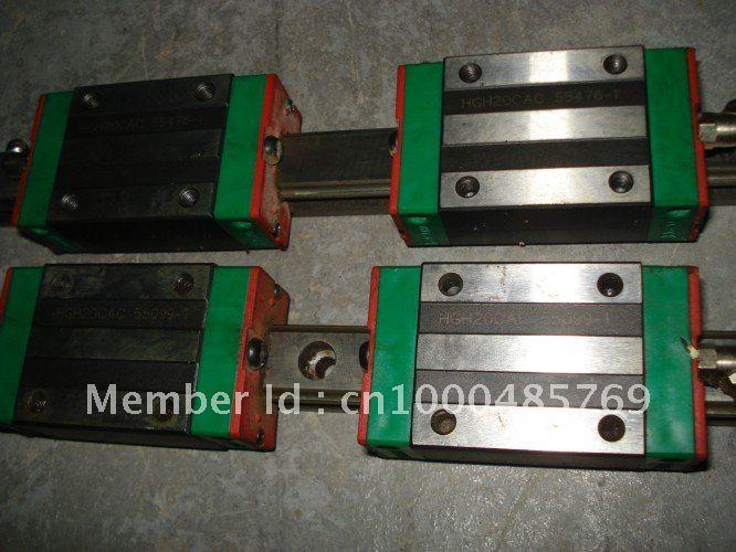 Cnc 100% hiwin HGR45-3000MM السكة خطي دليل من تايوان