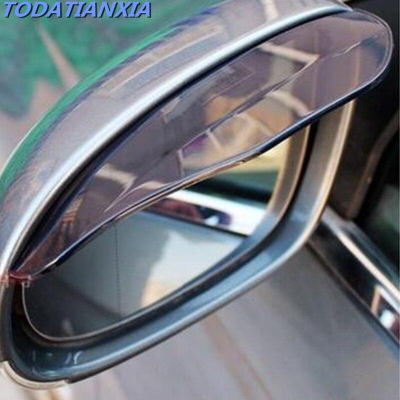 Ombrage de pluie de rétroviseur   Accessoires de voiture pour honda civic 2006-2011 volkswagen 308 octavia mazda 3 focus mk2 passat