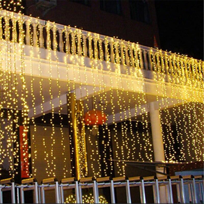 Guirnalda de luces Led 100 de 10M para Año Nuevo 2020 Navidad 2019 adornos navideños para el hogar Decoración de árbol de Navidad Natal